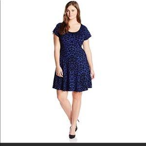 Jessica Simpson Magdala animal print jersey dress